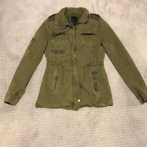 Forever 21 Military army green jacket size S